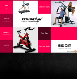 Web Dinkan - Remington Fitness